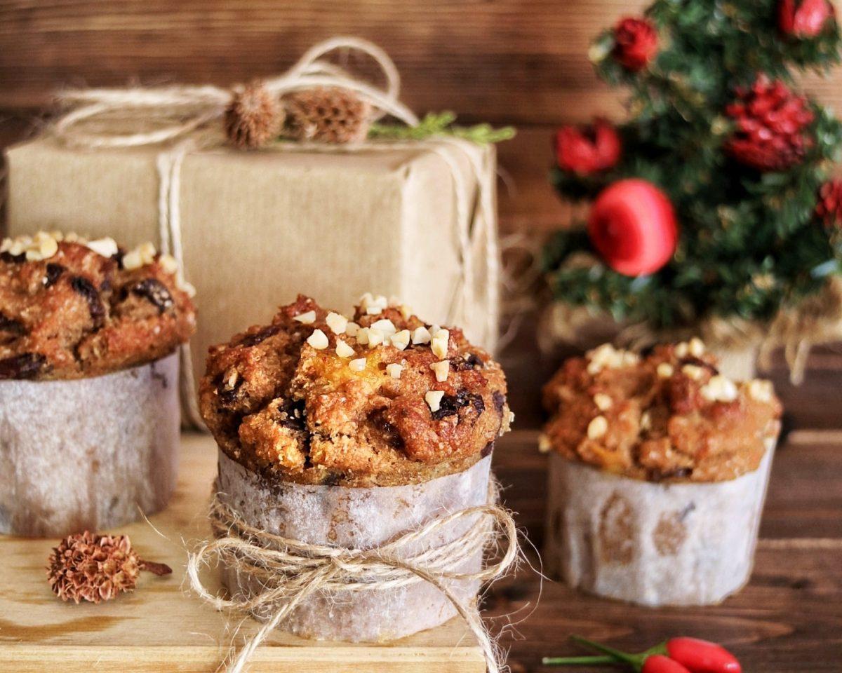 Come preparare i panettoffin: muffin panettone per Natale