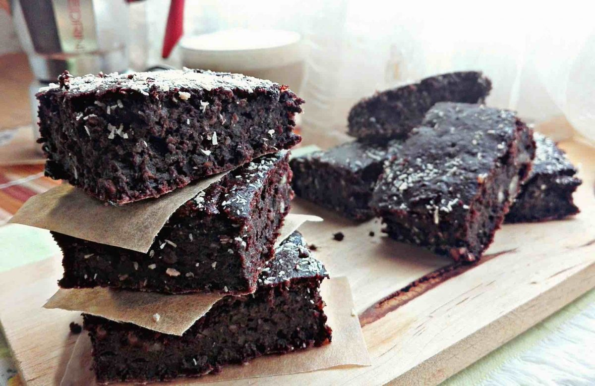 Brownies vegan al cioccolato