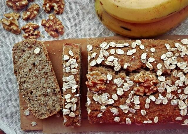 banana bread vegan integrale 2