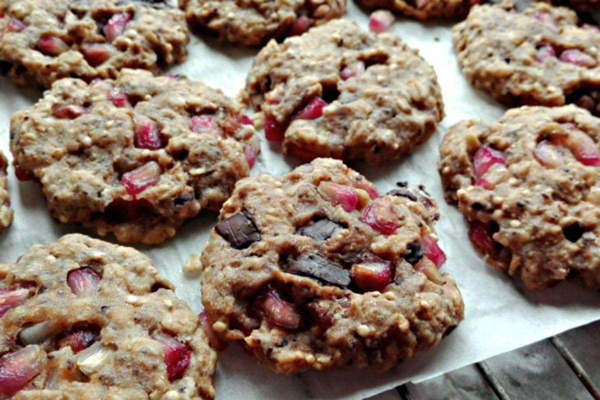 la ricetta dei biscotti alla melagrana
