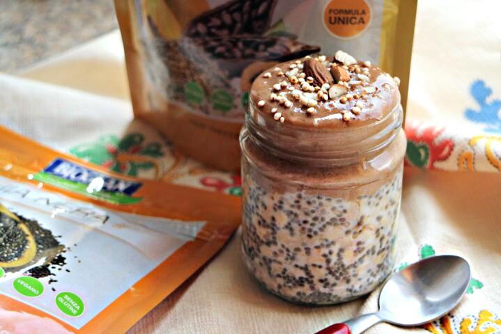 Porridge vegan con Bioglan