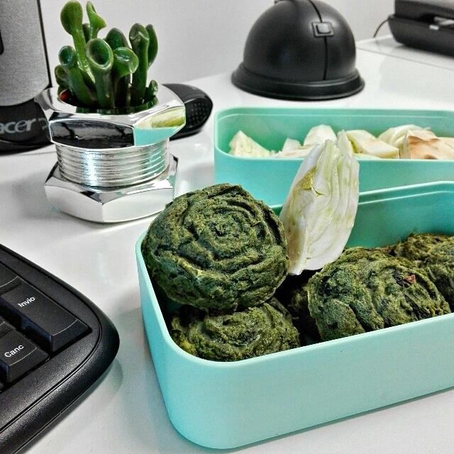 Pranzo in ufficio con i muffin frittata