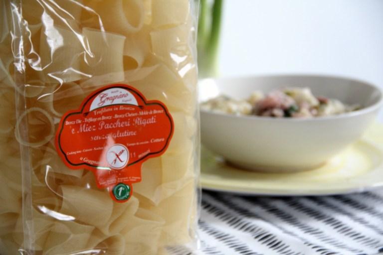 Prodotti senza glutine:la pasta