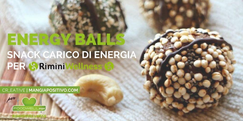 Come preparare le energy balls per RiminiWellness