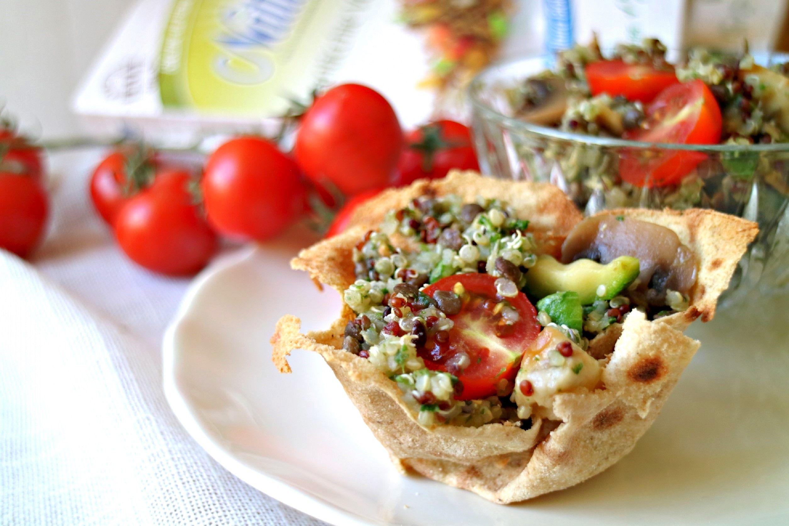 Come preparare l'insalata di quinoa con verdure
