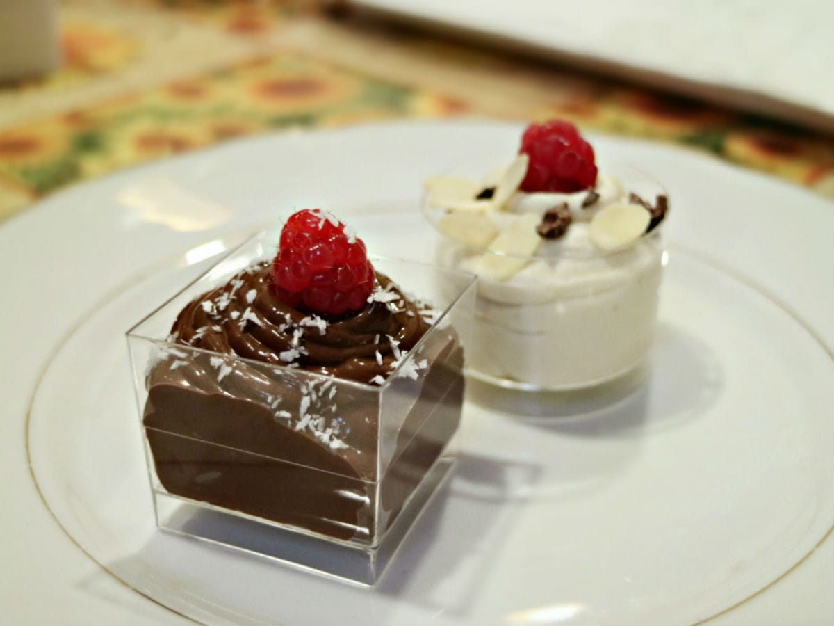 Crema di tofu e cacao