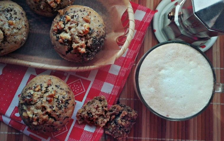 muffin integrali vegan mangiapositivo
