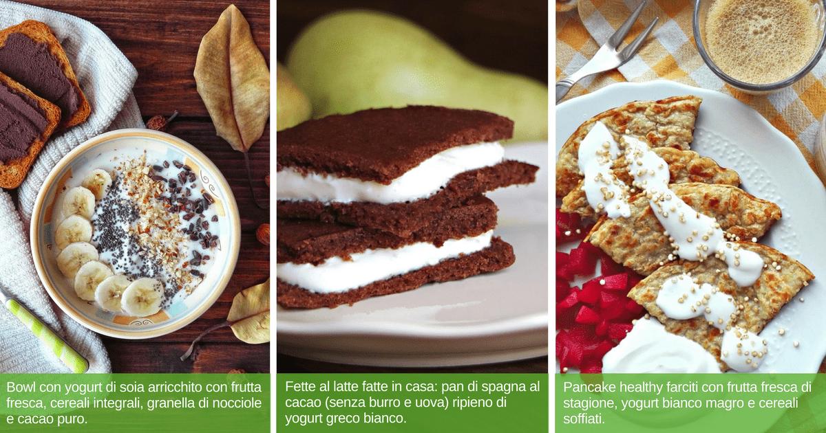 Yogurt migliore: esempi colazione sana