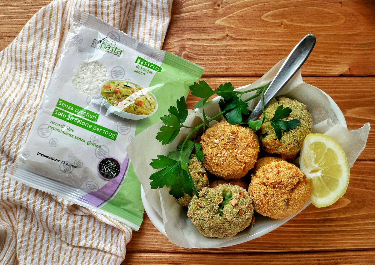 Preparare la crocchette di riso vegan con ZenPasta