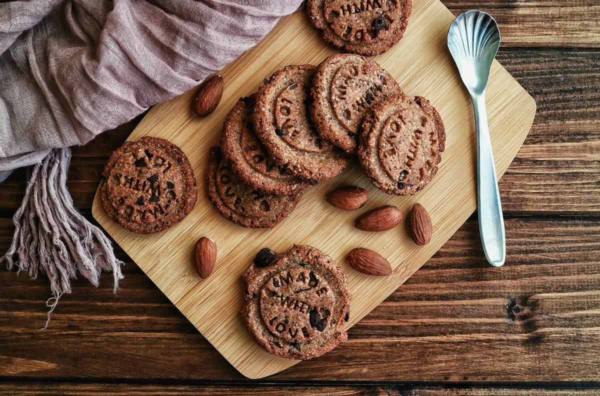 Come preparare i biscotti integrali alla banana vegan