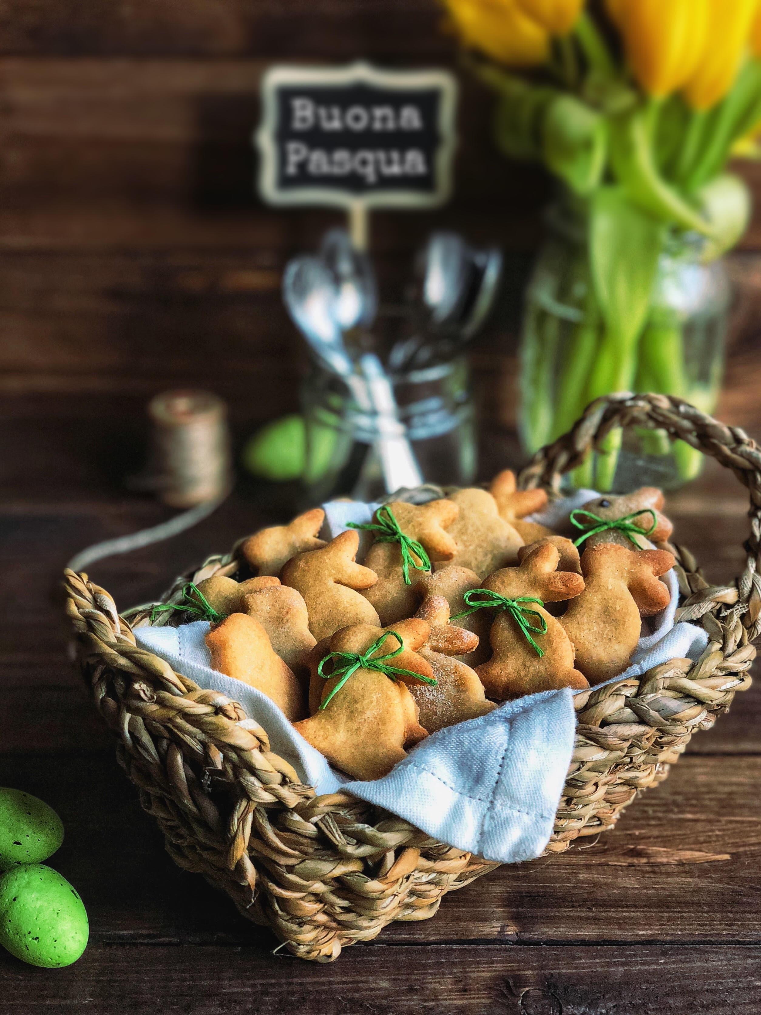 Idee sane per Pasqua: biscotti alla frolla con farina di riso