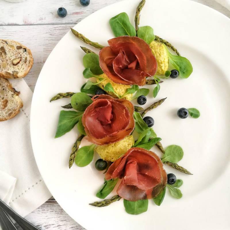 Ricetta insalata con la bresaola nonchiamateladieta