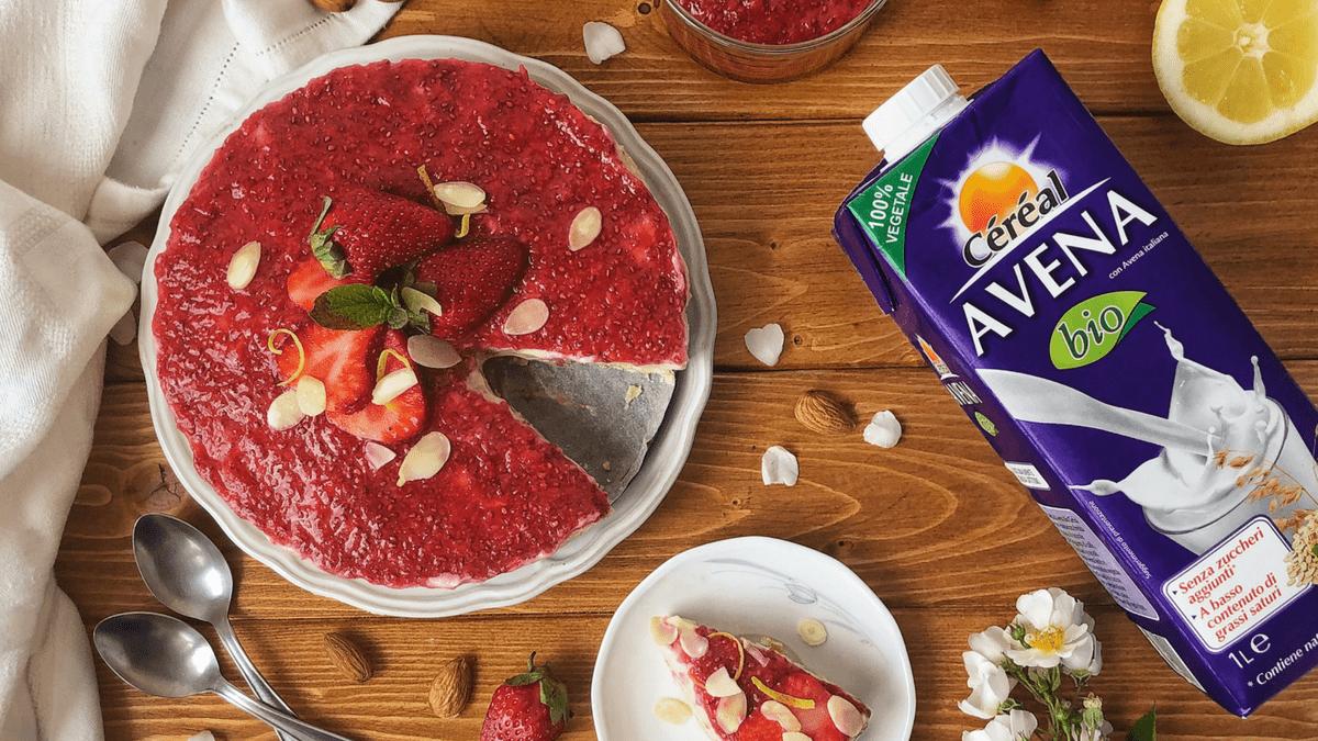 Céréal – Ricetta Cheesecake vegan Senza Lattosio