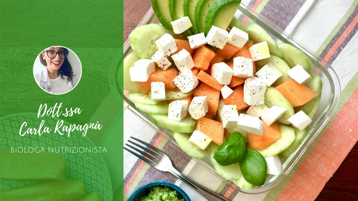 Idee per insalate estive - Insalata di Carla Rapagnà