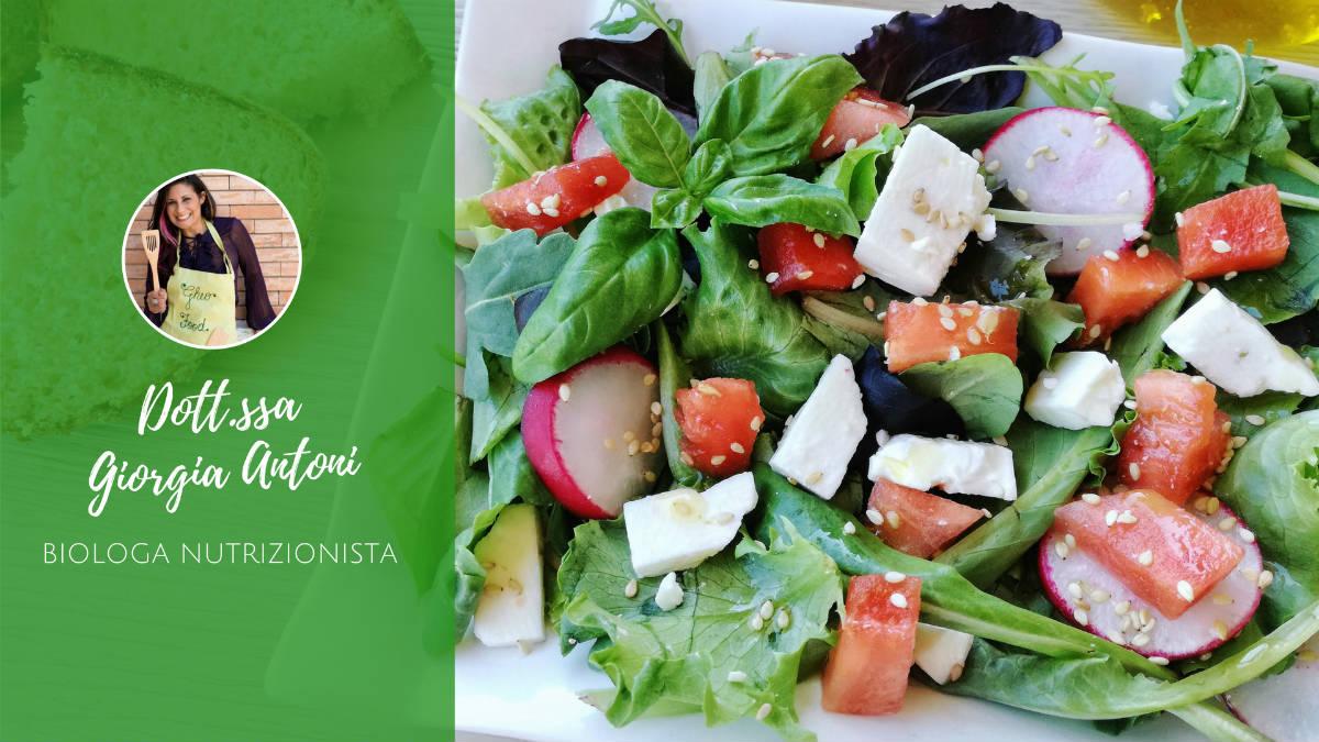 Idee per insalate estive - Insalata di Giorgia Antoni