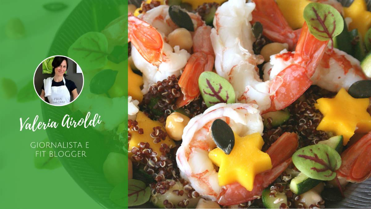 Idee per insalate estive - Insalata di Valeria Airoldi