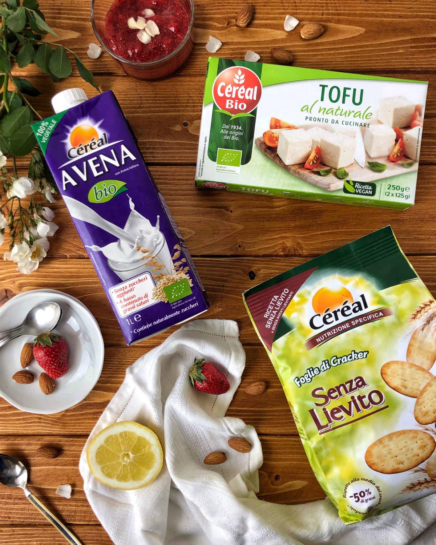 Céréal – Gli ingredienti della Cheesecake vegan Senza Lattosio