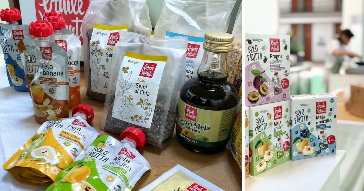 Gli ingredienti Baule Volante per la granola in padella