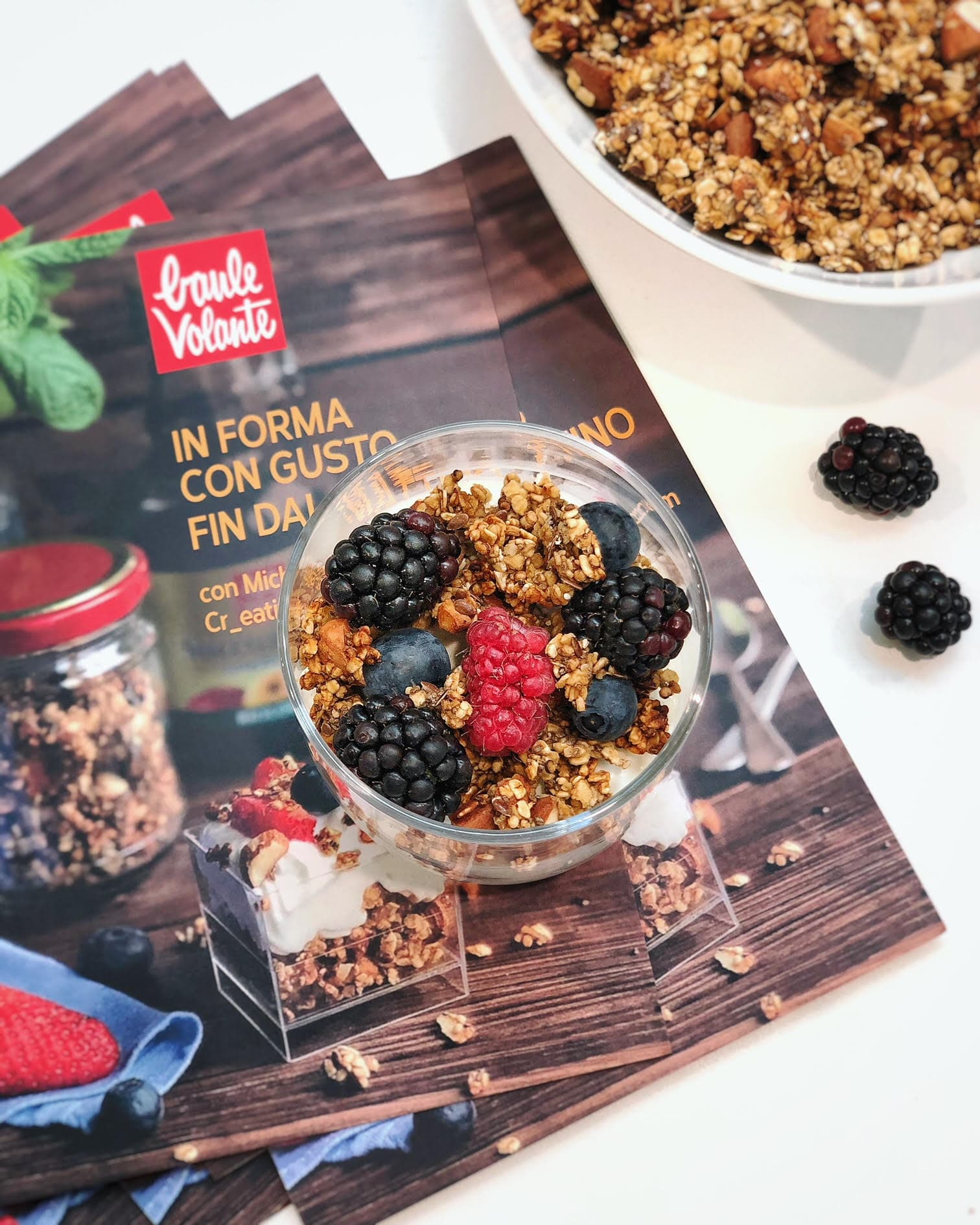 La ricetta della granola in padella