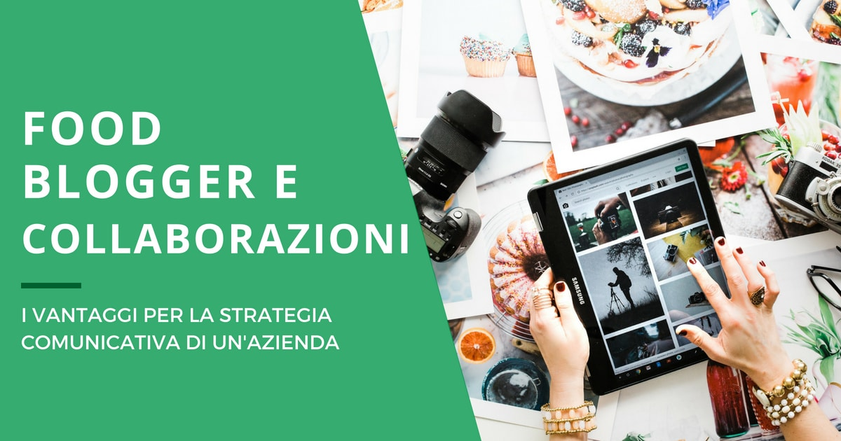 Collaborazioni con food blogger