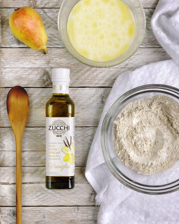 Pancake light allo yogurt greco con i condimenti aromatizzati Zucchi