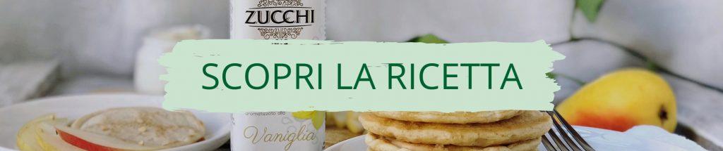 Ricetta pancake light allo yogurt greco sul sito ZUCCHI