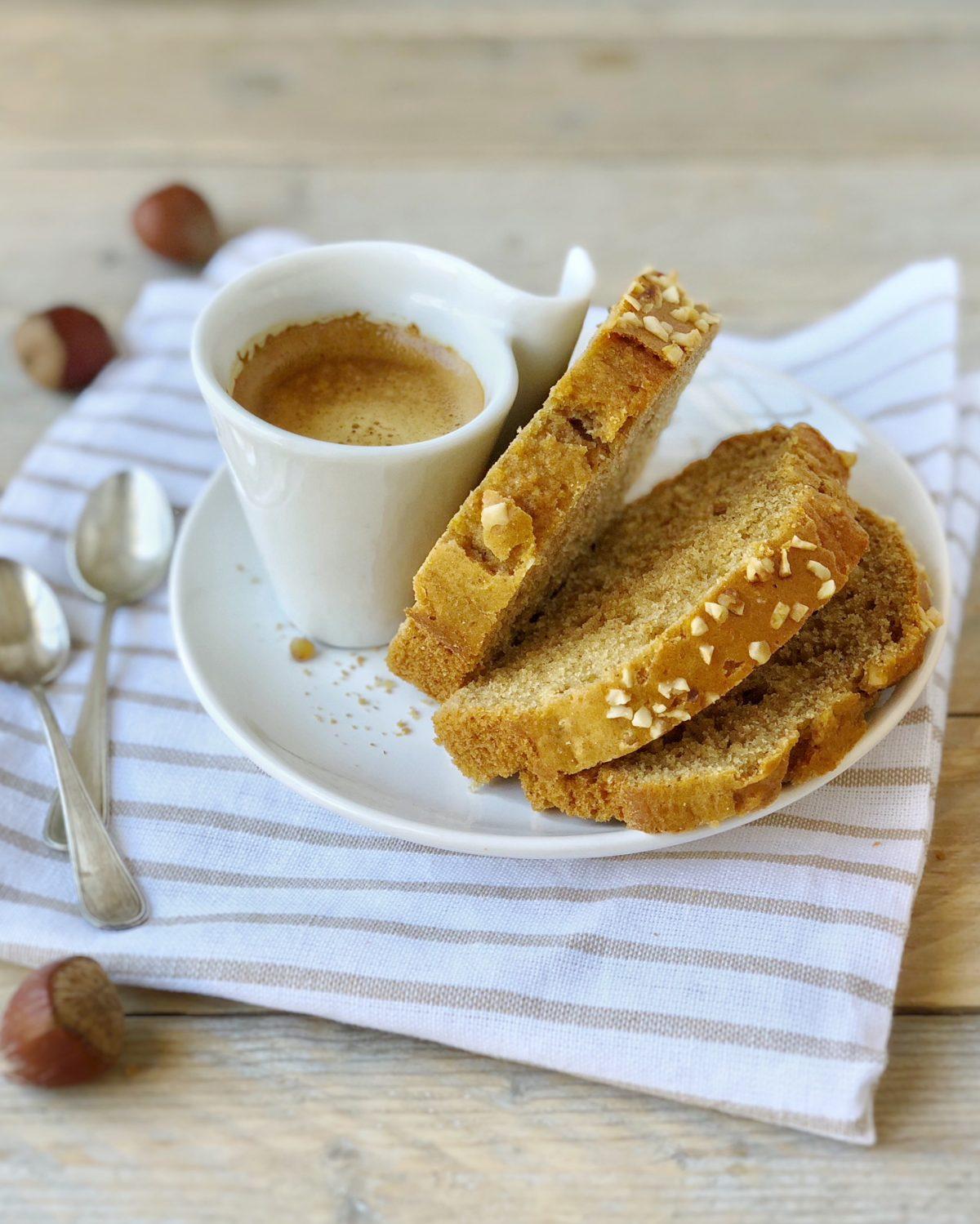 Colazione sana con il plumcake senza latte