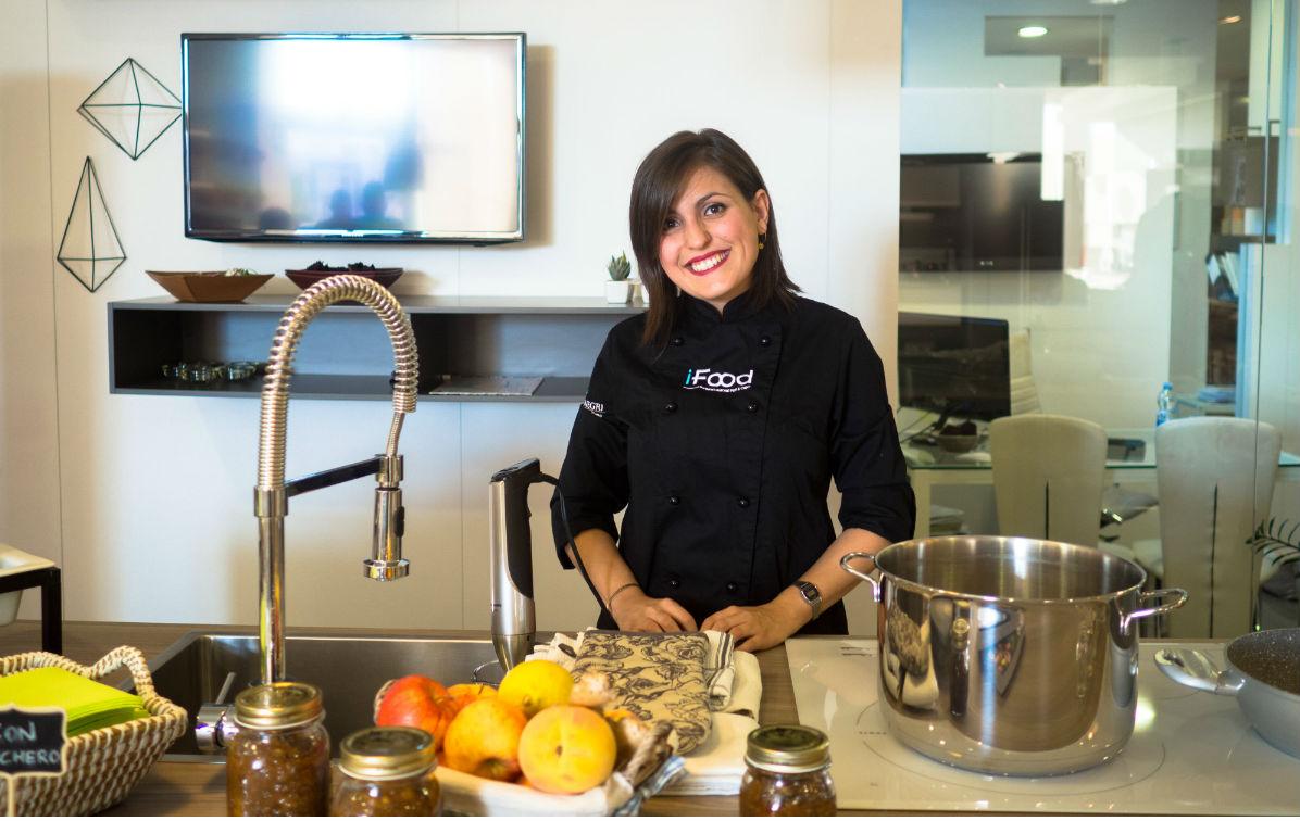 Ricetta composta di frutta per il cooking Lab scavolini