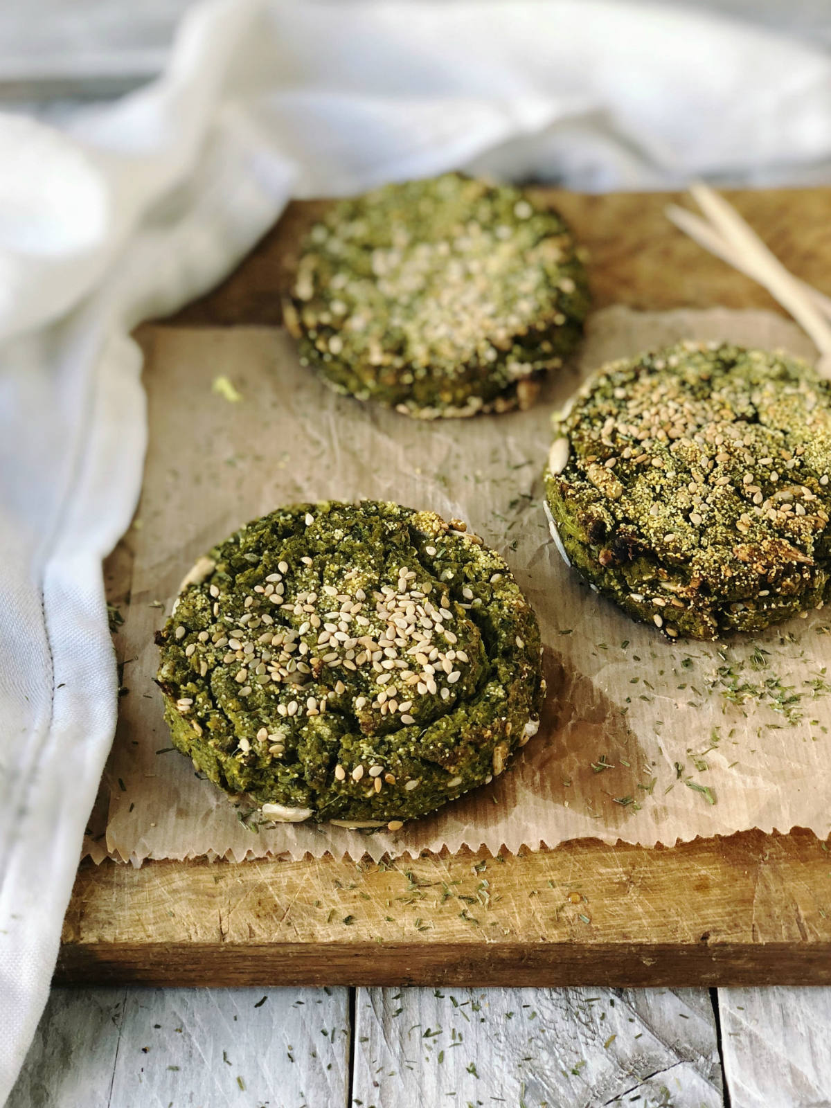 I burger di legumi e verdure