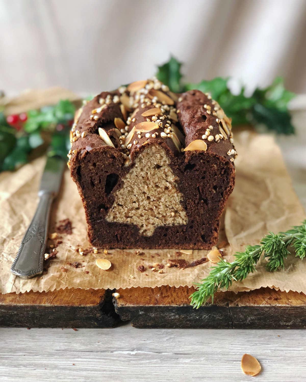 Come fare il plumcake con sorpresa di Natale