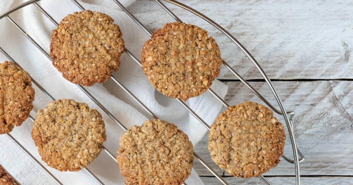La ricetta senza glutine dei biscotti con farina di grano saraceno