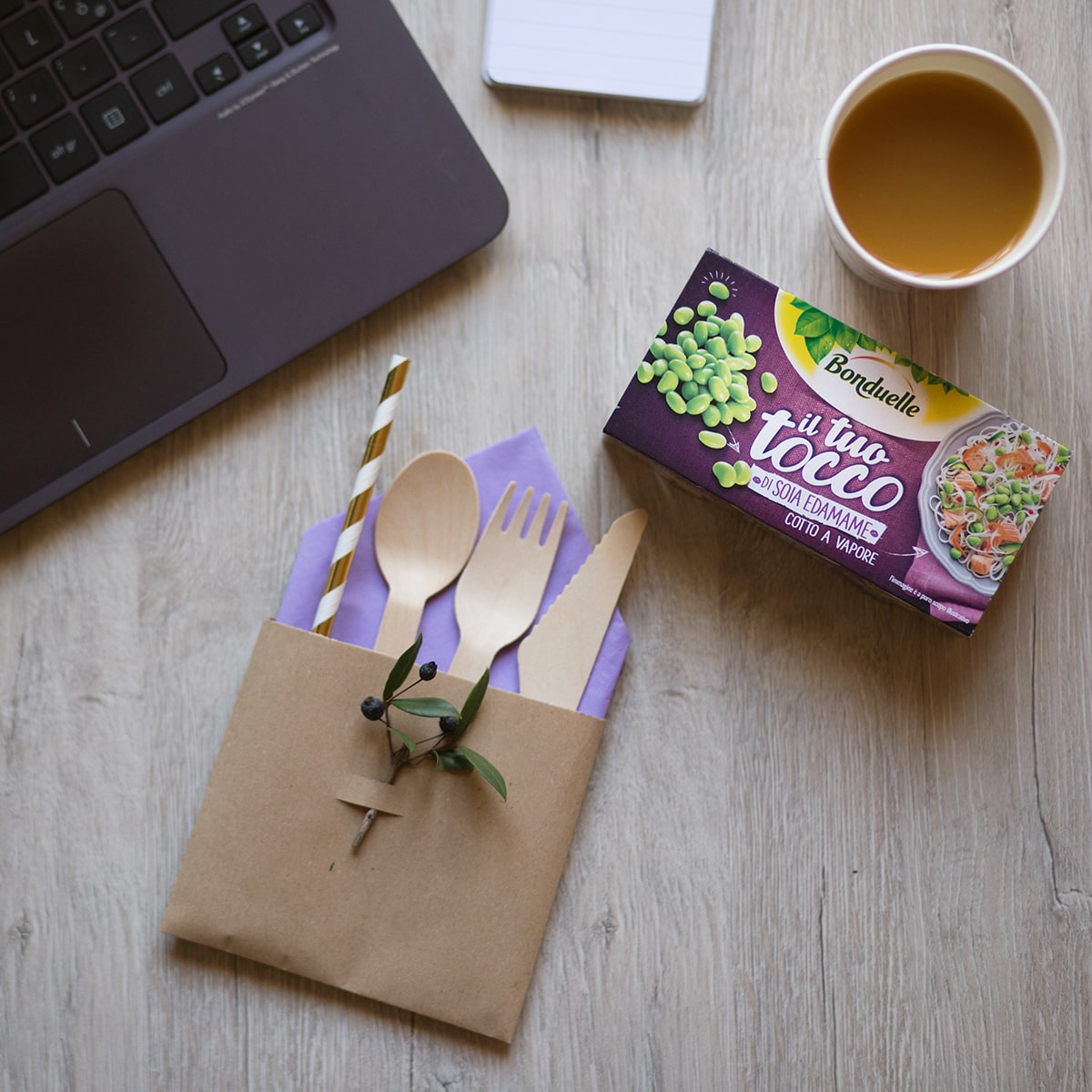 Tutorial portaposate per lunch box