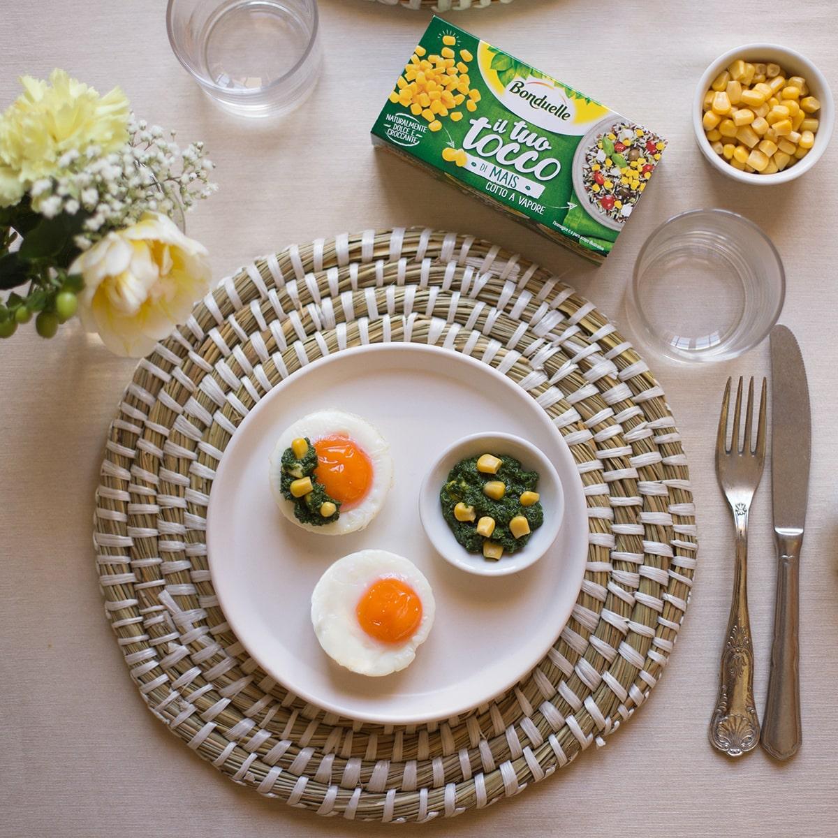 Idee pranzo di pasqua: muffin salati con pesto di rucola e il Tuo Tocco di mais