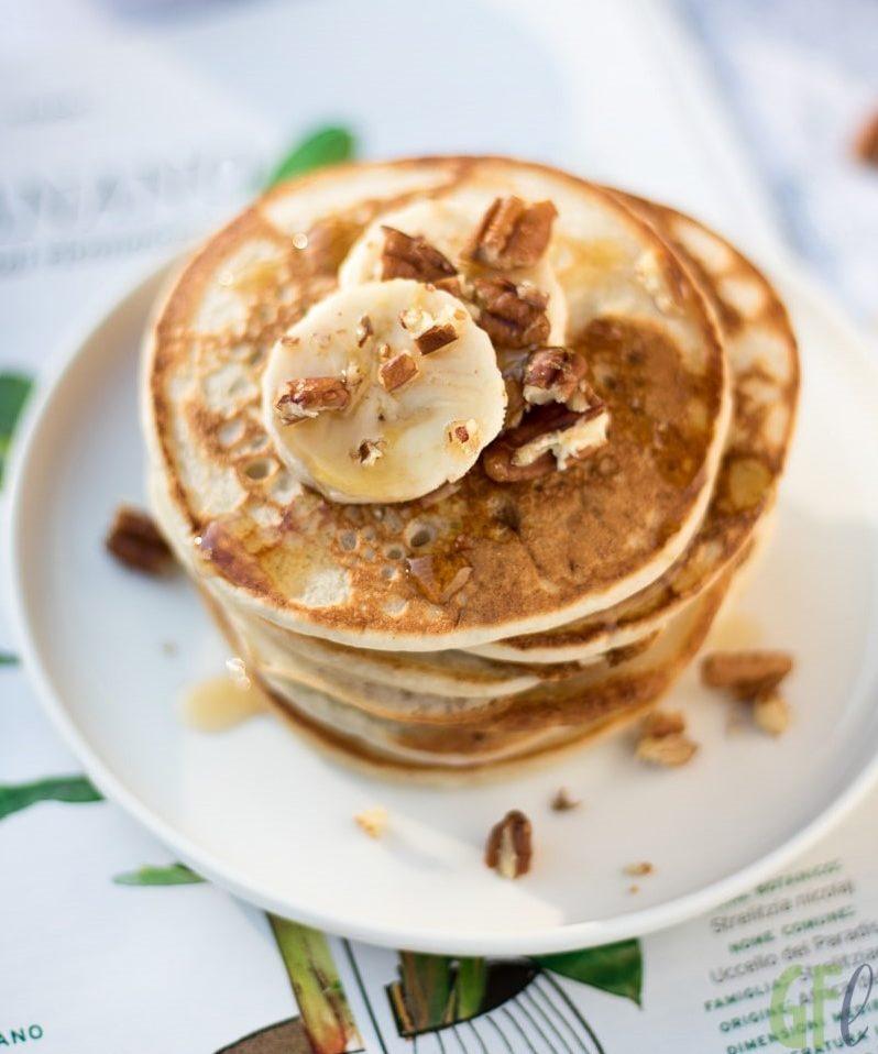 Dolci con banane: pancakes