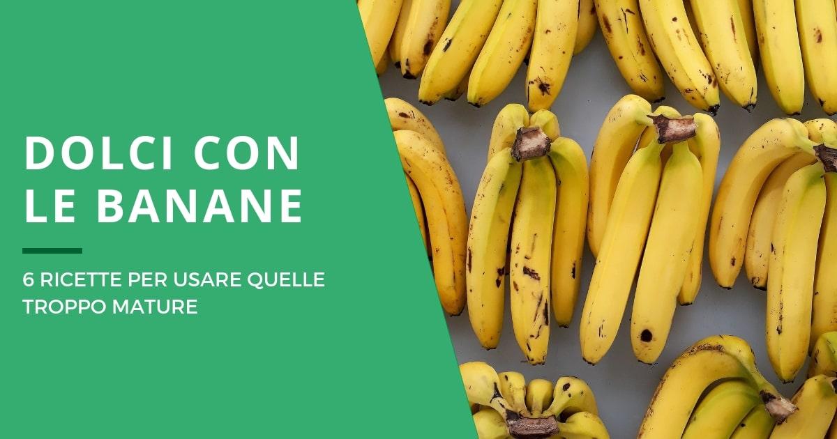 Idee per dolci con banane