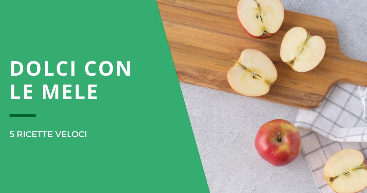 Idee dolci con le mele
