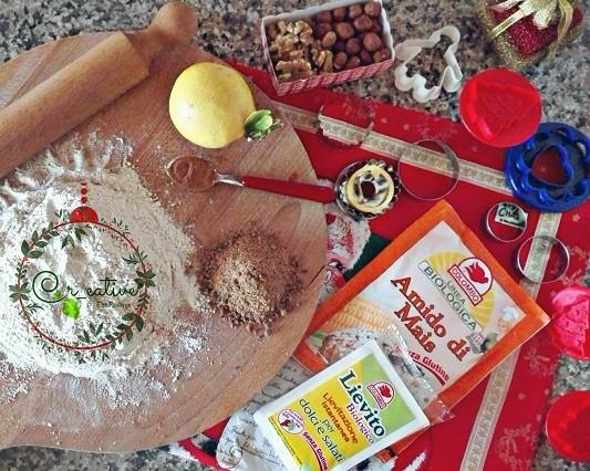 Ingredienti Biscotti di pasta frolla con olio