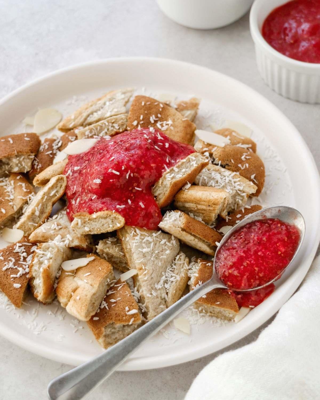 kaiserschmarren light frittata dolce