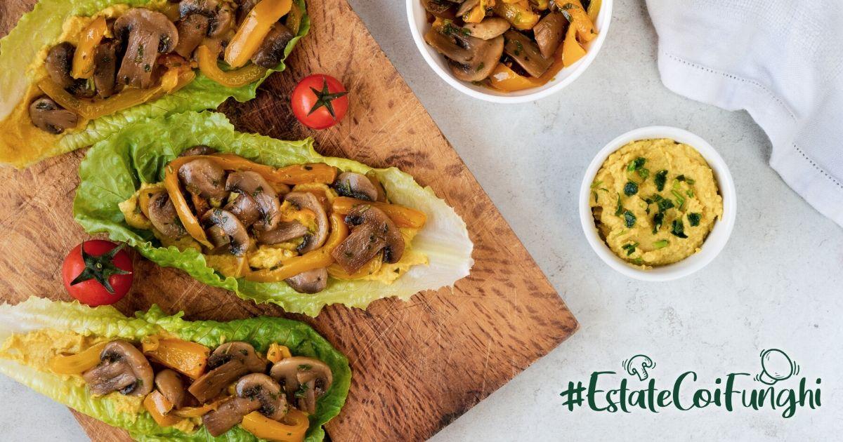 Ricette estive con funghi champignon