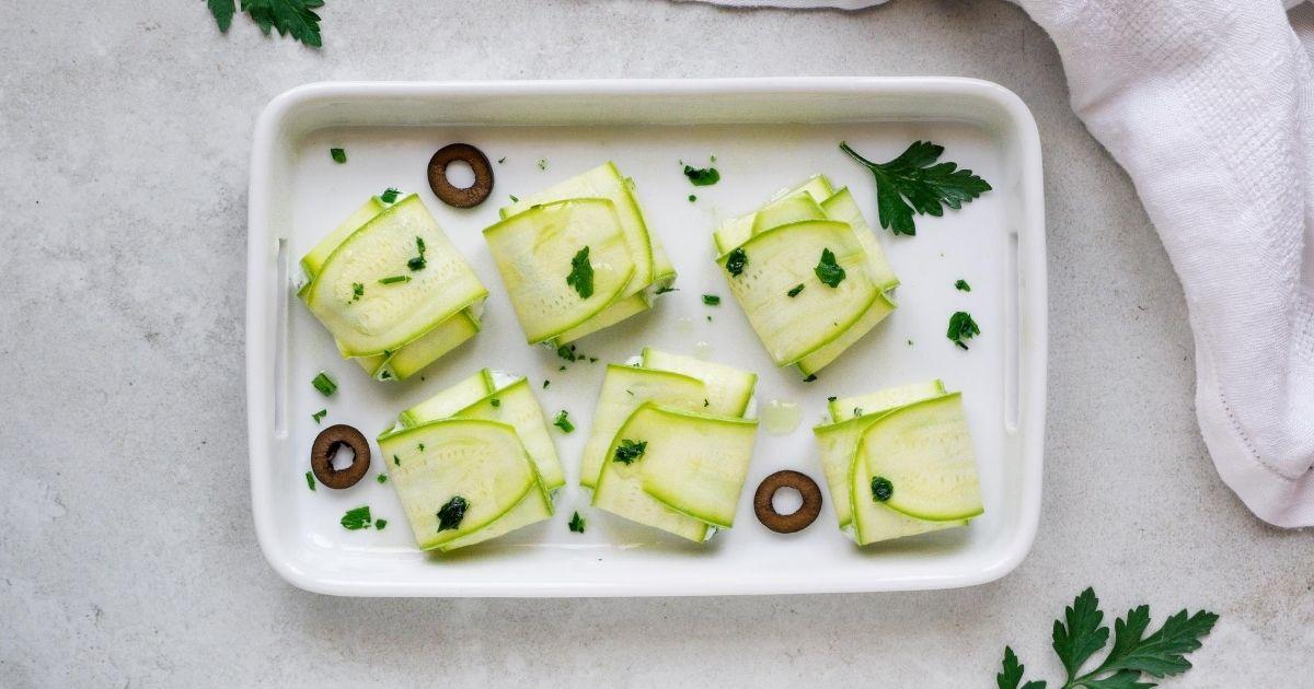 Come fare gli involtini di zucchine e ricotta